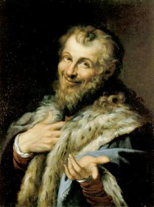 Democritus_by_Agostino_Carracci